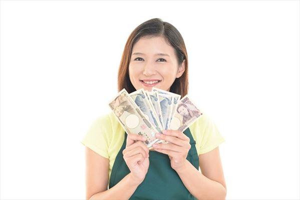 ひまわりの日にクレジットカード現金化した利用者のイメージ