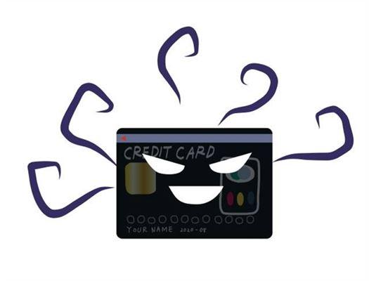 クレジットカードの不正利用の疑いを持たれた